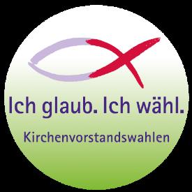 Logo zur KV-Wahl in bunt